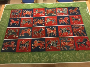Skepptuna under production/ Photo Historical Textiles