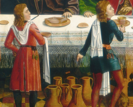 The Marriage at Cana by Master of the Catholic Kings, circa 1495 - Smithsonian National Gallery of Art, Washington, DC USA