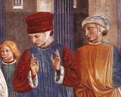 1452 Fresco, Apsidal chapel, San Francesco, Montefalco http://www.wga.hu/frames-e.html?/html/g/gozzoli/2montefa/09scene.html